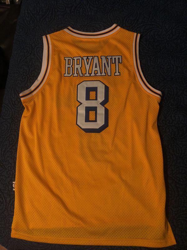 da981eb9 Lakers Kobe Bryant Mitchell & ness hardwood classic jersey for Sale ...
