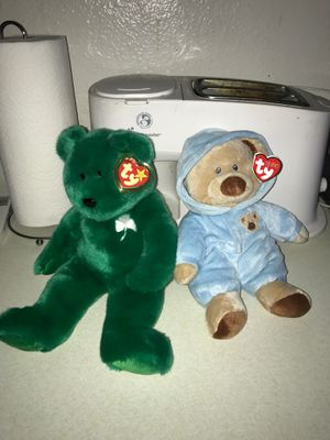 Beanie babies $5 for both! for Sale in Clovis, CA