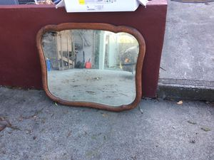 Antique oak mirror for Sale in Santa Rosa, CA