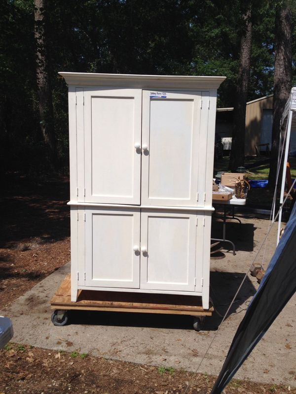 Pottery Barn Armoire Computer Cabinet For Sale In Hockley