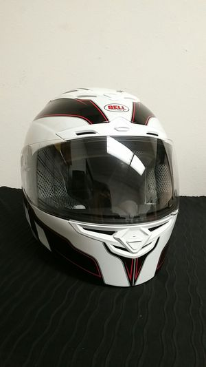 Bell RS-1 Full Face Motorcycle Helmet Emblem White XXL for Sale in Long Beach, CA