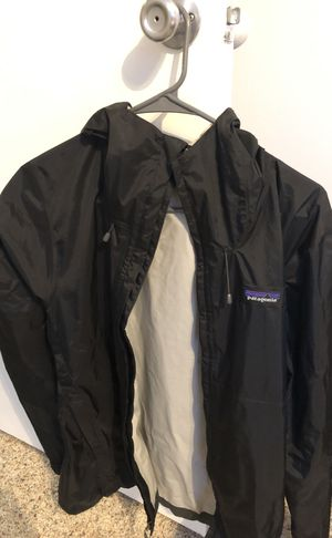 Patagonia rain jacket with hood for Sale in Columbia, MD