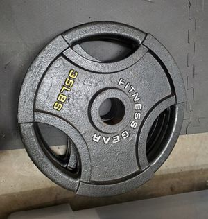 Pair of 35s OLYMPIC WEIGHTS for Sale in Ashburn, VA