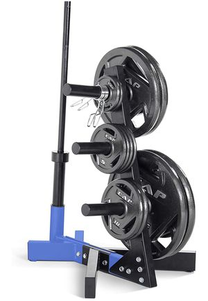 Weight Tree for barbell and olympic size plates for Sale in Fort Lee, NJ