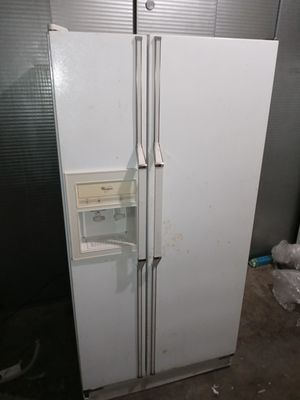 "Whirlpool. Garage refrigerator good condition(Size 33"" w 30"" d by 66""h ))I will help with free delivery. for Sale in Claremont, CA"