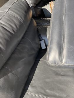 Used black Leather Recliners , The First 2 Are A Little Damaged, The Rest Are In A Very Good Conditions . for Sale in Bloomingdale,  IL