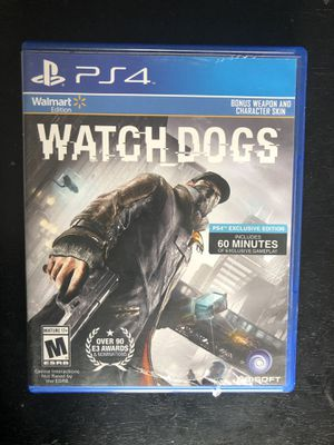 Watch Dogs + MLB The Show 16 + FIFA 16 for PS4 for Sale in New York, NY