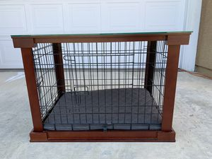 Dog crate - end table for Sale in La Verne, CA