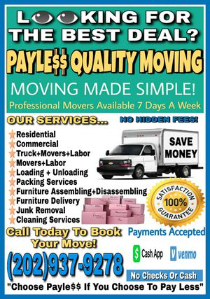 FREE QUOTES! NO HIDDEN FEES! SAVE MONEY! for Sale in Washington, DC