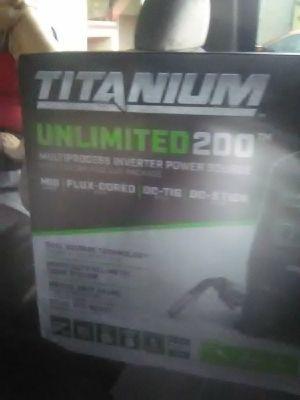 Titanium Unlimited 200 Welder for Sale in Tacoma, WA