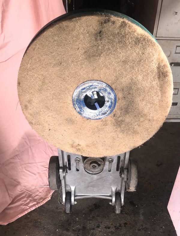 """High Speed Floor Buffer, Burnisher And Polisher ABEL 20"""", 1500 RPM"""