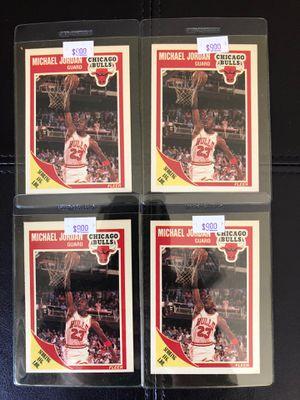 1989 Fleer Basketball cards of Michael Jordan! for Sale in Monterey Park, CA