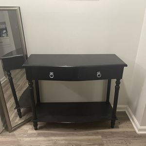 Black Wooden Entry Table for Sale in Durham, NC