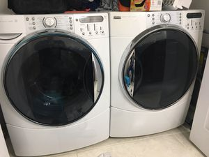 Kenmore elite washer and dryer (dryer needs a part) for Sale in Brockton, MA