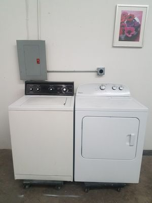 Kenmore Washer And Whirlpool Electric Dryer Set, Great Working👍, Free Delivery Only For First Floor🚀🚚👷‍♂️Free installation👨‍🔧 Very Clean for Sale in Richardson, TX