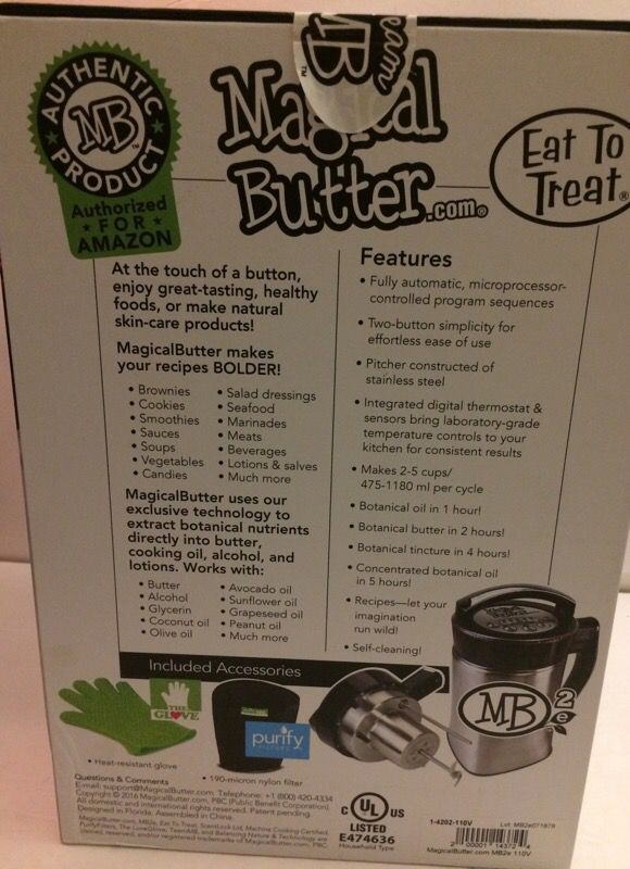 Magical Butter MB2E Botanical Extractor Machine for Sale in Nashville, TN -  OfferUp