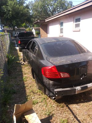 02 infiniti for parts for Sale in Tampa, FL