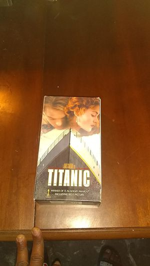 Classic one &two Titanic vhs tapes for Sale in Tampa, FL