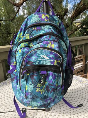 High Sierra Back Pack for Sale in San Diego, CA