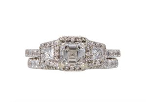 GIA CERTIFIED ENGAGEMENT RING & WEDDING BAND for Sale in Mission Viejo, CA