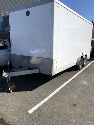 Wells cargo Trailer Custom !!! for Sale in Arlington, WA