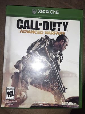 Xbox One game Call of Duty for Sale in Glendale, AZ