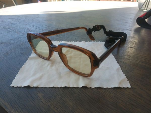 Vintage 50s 60s eyewear new lenses army issue non prescription