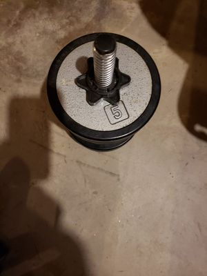 Weights 5lb,2 1/2lb for Sale in Minooka, IL