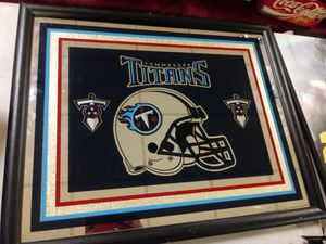 Tennessee Titans mirror for Sale in Norfolk, VA