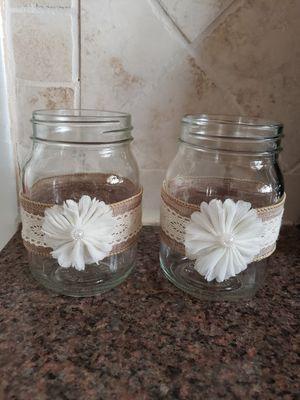 Mason jar vases for Sale in Miramar, FL