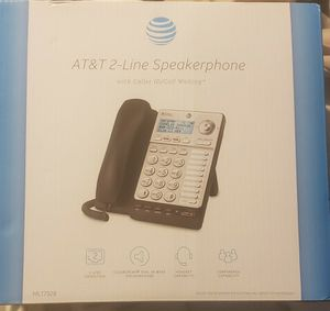 AT&T ML17929 2-Line Speakerphone with Caller ID/Call Waiting Black Brand New for Sale in Concord, NC
