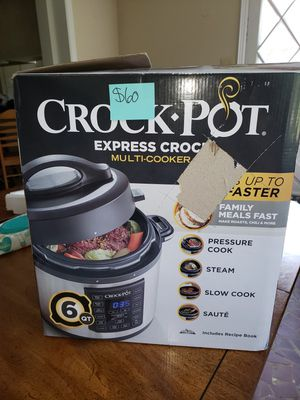 New crock pot express multi cooker for Sale in Graham, NC