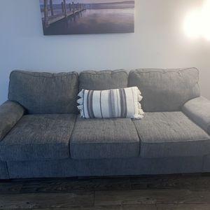 Gray 3 Seat Sofa Couch for Sale in Atlanta, GA