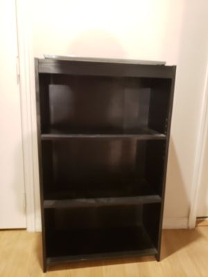 Small black book shelf for Sale in Orlando, FL