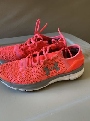 7 women's UA hotpink athletic shoes for Sale in Fresno, CA