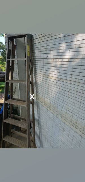 6 foot wooden ladder for Sale in Nashville, TN