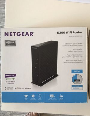 Netgear WiFi Router N300 for Sale in North Bethesda, MD