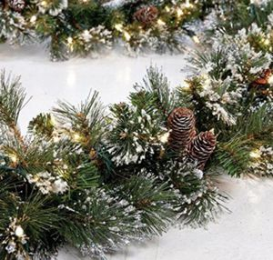 9' pre-lit garland with pine retail over $100 for Sale in North Highlands, CA