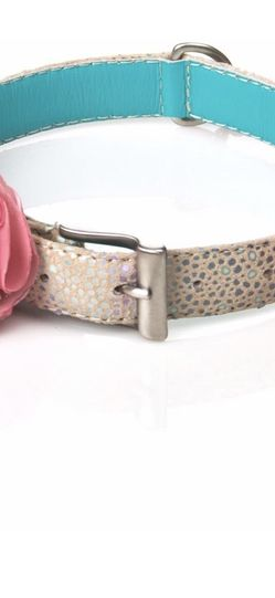 Macarena Dog Collar Handmade Leather L for Sale in Chandler,  AZ