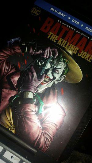 Batman The Killing Joke - Blu Ray Joker Movie for Sale in Mason City, IA