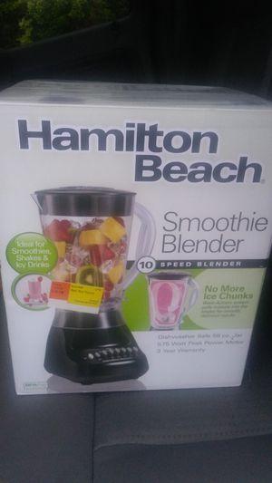 Hamilton Beach smoothie Blender 10 speed blender for Sale in McAllen, TX