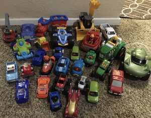 Cars toys all for 25$ for Sale in Dallas, TX