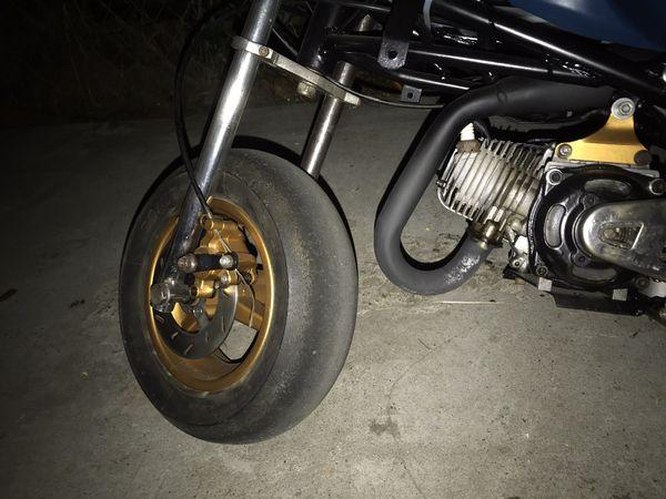 Restored 47cc pocket bike