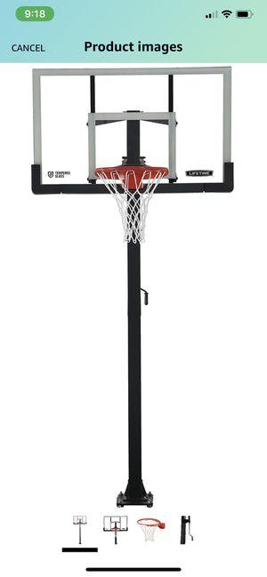 Lifetime crank basketball hoop for Sale in Crofton, MD