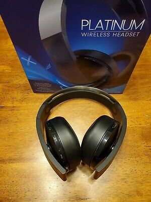 PS4 Platinum Wireless headset with dongle for Sale in Houston, TX