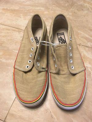 Vans Hemp Rasta Skate Shoes size 9 for Sale in Lemon Grove, CA