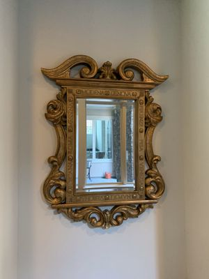 $215 large gold mirror home decor for Sale in Frisco, TX