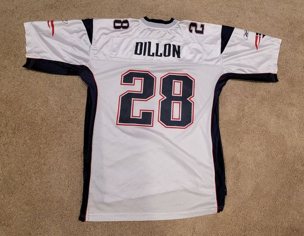 Patriots Jersey. Corey Dillon Reebok Large