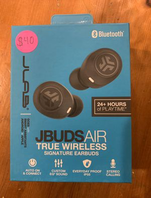 Jbuds air true wireless earbuds (3 pairs available) for Sale in Carlsbad, CA