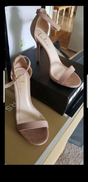 Lulus mauve heels for Sale in San Jose, CA